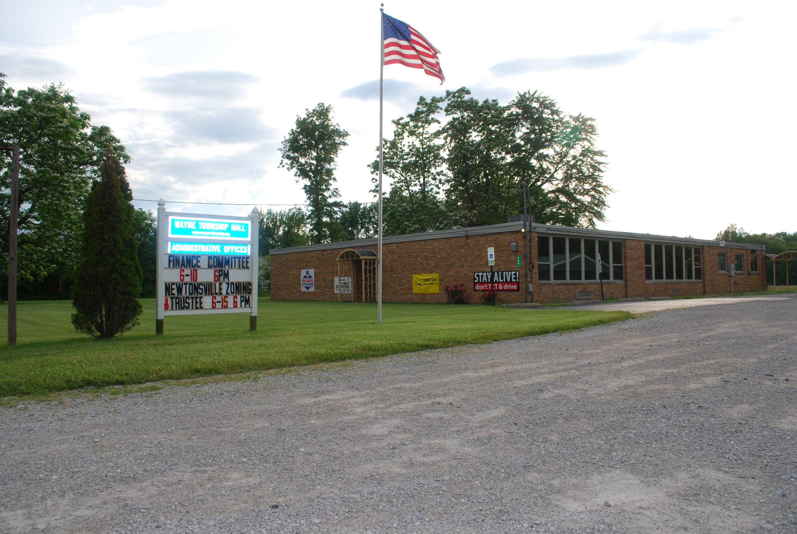 Newtonsville Hall and Admin