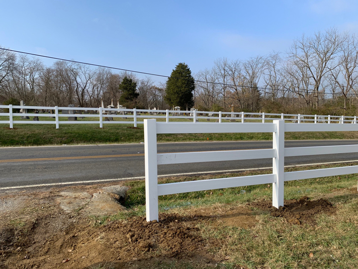 Woodville Cemetery Fence